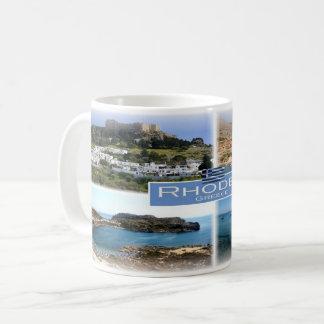 GR Greece - Rhodes - Coffee Mug
