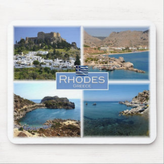 GR Greece - Rhodes - Mouse Mat