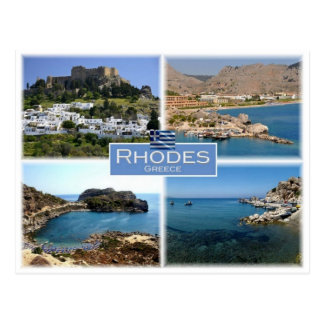 GR Greece - Rhodes - Postcard