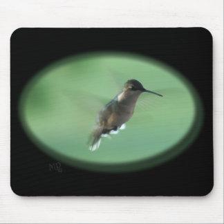 Gr Hummingbird Mousepad- customize Mouse Mat