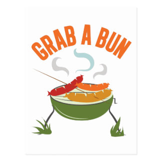 Grab A Bun Postcard