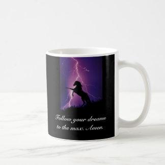 Grab Destiny By the Balls Classic White Coffee Mug