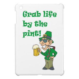 GRAB LIFE BY THE PINT iPad MINI COVERS