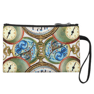 Grab some Time! Wristlet Clutches