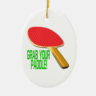 Grab Your Paddle Ornaments