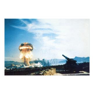 Grable Event Operation Upshot Knothole Atomic Test Photo Art