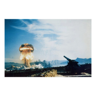 Grable Event Operation Upshot Knothole Atomic Test Poster