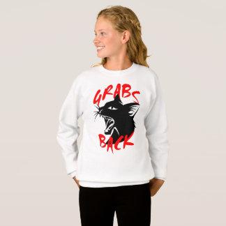 Grabs Back Girl's Sweatshirt