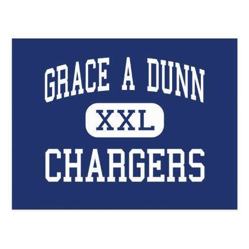 Grace A Dunn Chargers Middle Trenton Postcard