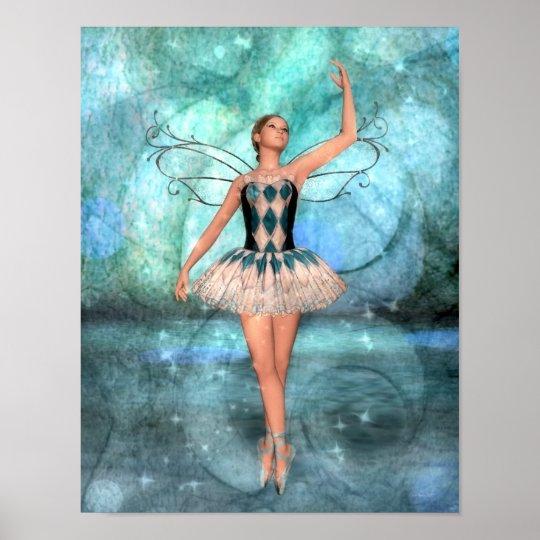 Grace Ballerina Fairy Poster