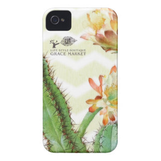 Grace cactus ikat zigzag iPhone 4 Case-Mate cases