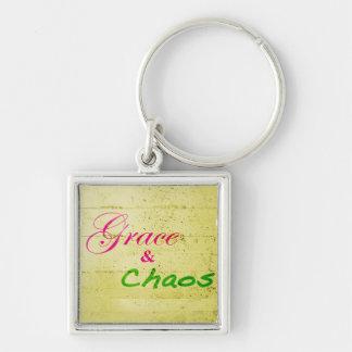 Grace & Chaos Signature Keychain