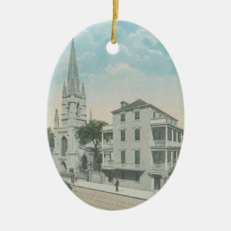 Grace church charleston christmas ornament