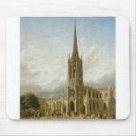 Grace Church, New York circa 1858 Mouse Pad