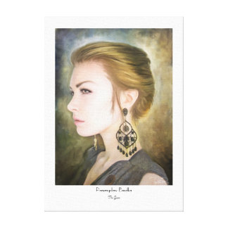 Grace classic oil portrait painting art beauty gallery wrap canvas