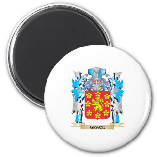 Grace Coat of Arms - Family Crest Refrigerator Magnet