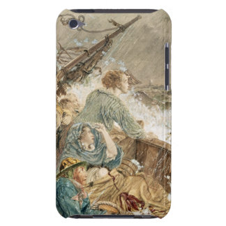 Grace Darling and her father saving the shipwrecke iPod Touch Cover