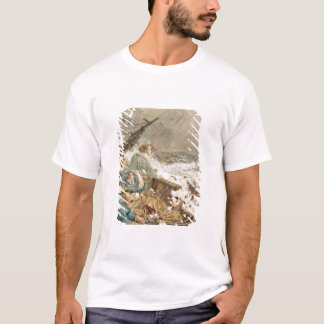 Grace Darling and her father saving the shipwrecke T-Shirt