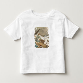 Grace Darling and her father saving the shipwrecke Toddler T-Shirt