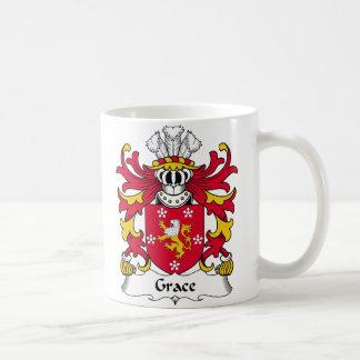 Grace Family Crest Coffee Mug