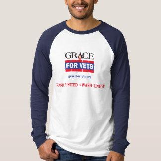 Grace For Vets Raglan T-shirt