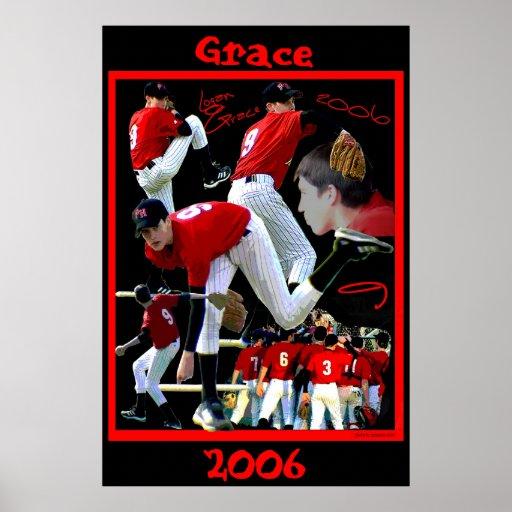 Grace Freshman Baseball Poster