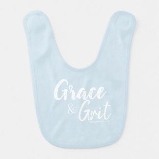 Grace & Grit Baby Bib-Carey Portell Bib