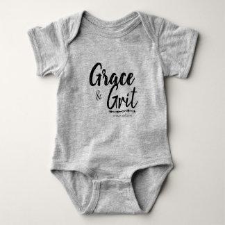 Grace & Grit Baby Under Garment-Carey Portell Baby Bodysuit