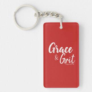 Grace & Grit Key Chain-Carey Portell Key Ring