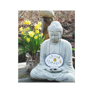 Grace Happens Buddha Wall Art