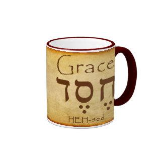 GRACE HEBREW MUG