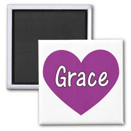 Grace Refrigerator Magnets