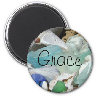 Grace magnets gifts Blue Seaglass Holiday gift