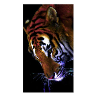 grace of a tiger business card template