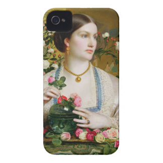 Grace Rose, 1866 (oil on panel) iPhone 4 Case-Mate Cases