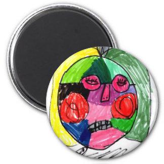 Grace Self-Portrait Green Magnets