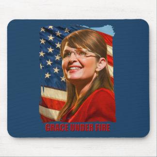 Grace Under Fire Mouse Pad