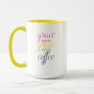 Grace Upon Grace Upon Coffee - 15 oz. Coffee Mug