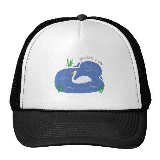 Graceful As Swan Cap