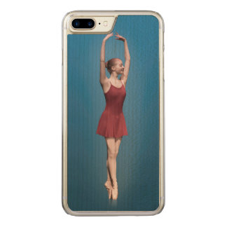 Graceful Ballerina On Pointe Carved iPhone 7 Plus Case