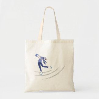 Graceful Ice Skater Tote Bag