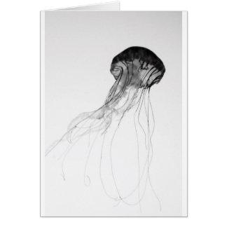 Graceful Jellyfish Card