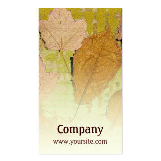 Graceful Leaves Pack Of Standard Business Cards