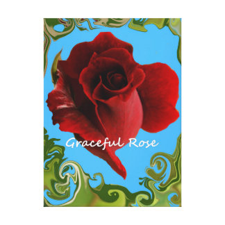 Graceful Rose. Canvas Print