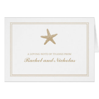 Graceful Starfish | Thank You Card