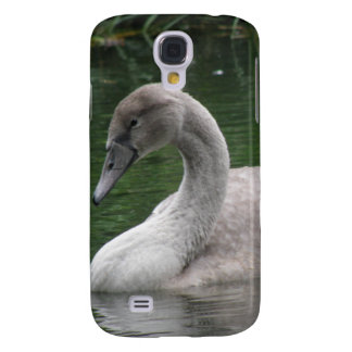 Graceful Swan on the Water  Galaxy S4 Case