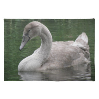 Graceful Swan on the Water Placemat