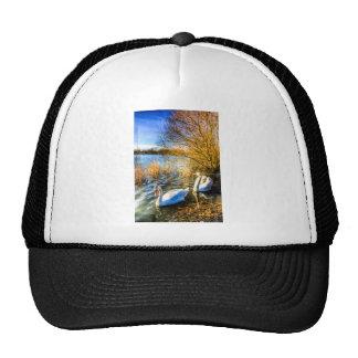 Graceful Swans Cap