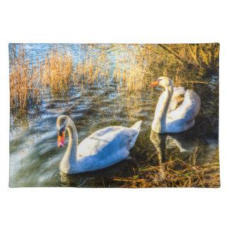 Graceful Swans Placemat