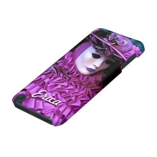 Graceful Woman With Purple Carnival Costume iPod Touch 5G Cases
